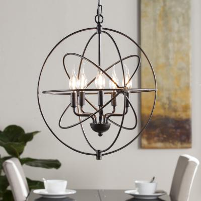 Nova 5-Light Orb Pendant Lamp
