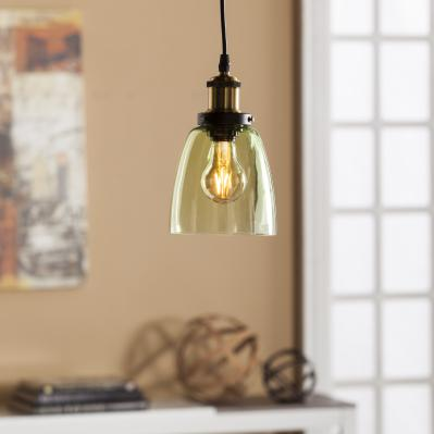 Savio Colored Glass Mini Pendant Lamp - Spring Green