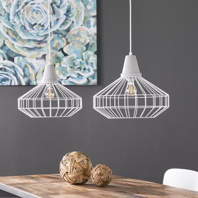 Brinland Cage Pendant Lamp Collection - 2pc Set