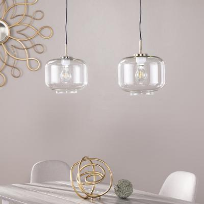 Alandari Glass Pendant Lamps - 2pc Set