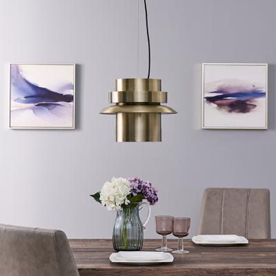 Alistair Metal Art Deco Pendant Light