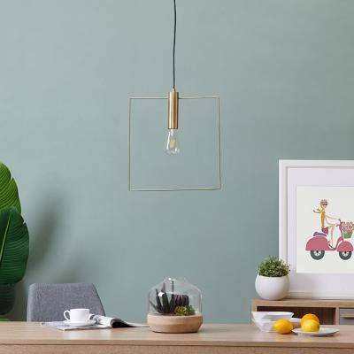 Cavazo Square Wire Light Fixture
