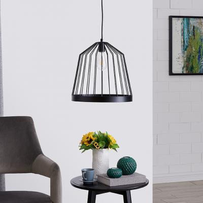 Clio Metal Pendant Lamp - Black