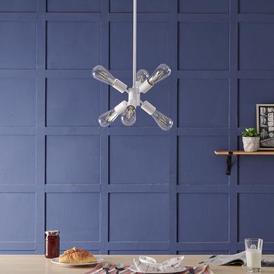 Hamlin 6-light Pendant Lamp - White