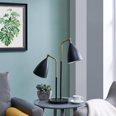 Reeves Two-Light Table Lamp