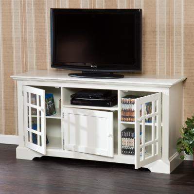 TV/MEDIA STAND - CULLERTON - OFF WHITE