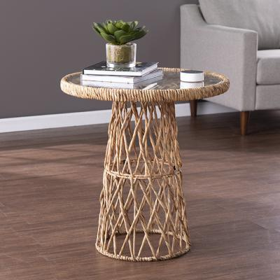 Nyborn Water Hyacinth Accent Table