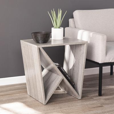 Bullingdon Contemporary Geometric Side Table