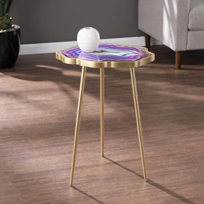 Norcova Accent Table - Purple