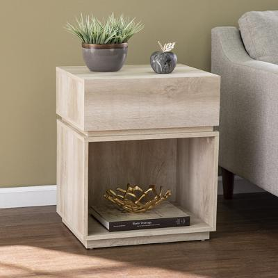Mortayne Side Table w/ Charging Station