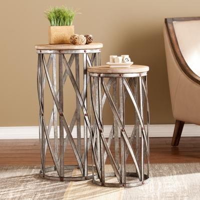 Mencino Accent Table 2Pc Set