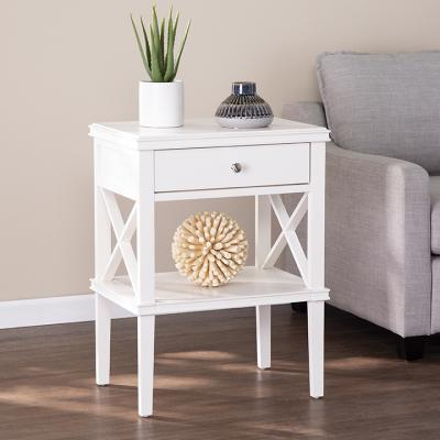 Wexbury Tall Accent Table - White