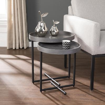 Shandon 2pc Nesting Accent Table Set