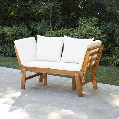 Dolavon Outdoor Convertible Lounge Chair