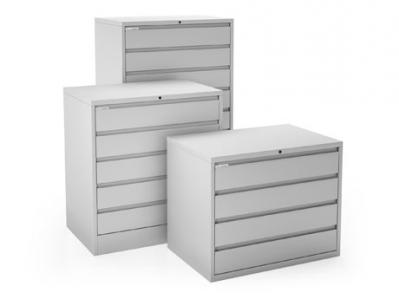 Promedia 4 Drawer Cabinet with 6 inch Adjustable Drawers