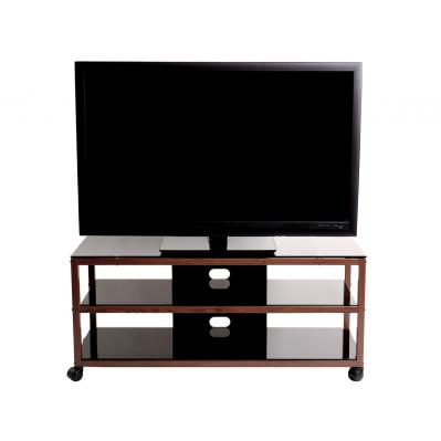 TV Stand / Cart with 2 AV Shelves for up to 55 inch Flat Panel TVs