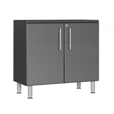 Ulti-MATE Garage 2.0 Series Oversized 2-Door Base Cabinet Graphite Grey