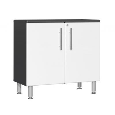 Ulti-MATE Garage 2.0 Series Oversized 2-Door Base Cabinet Starfire White Metallic