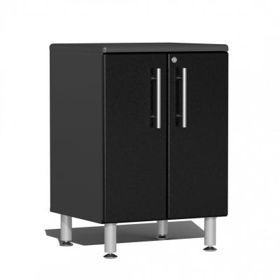 Ulti-MATE Garage 2.0 Series 2-Door Base Cabinet Midnight Black