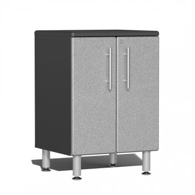 Ulti-MATE Garage 2.0 Series 2-Door Base Cabinet Stardust Silver Metallic