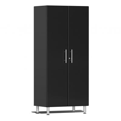 Ulti-MATE Garage 2.0 Series 2-Door Tall Cabinet Midnight Black