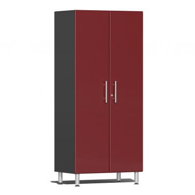 Ulti-MATE Garage 2.0 Series 2-Door Tall Cabinet Ruby Red Metallic
