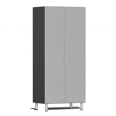 Ulti-MATE Garage 2.0 Series 2-Door Tall Cabinet Stardust Silver Metallic