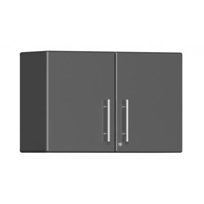 Ulti-MATE Garage 2.0 Series Oversized Partitioned 2-Door Wall Cabinet Graphite Grey