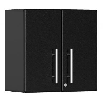 Ulti-MATE Garage 2.0 Series 2-Door Wall Cabinet Midnight Black