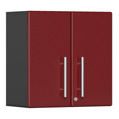 Ulti-MATE Garage 2.0 Series 2-Door Wall Cabinet Ruby Red Metallic