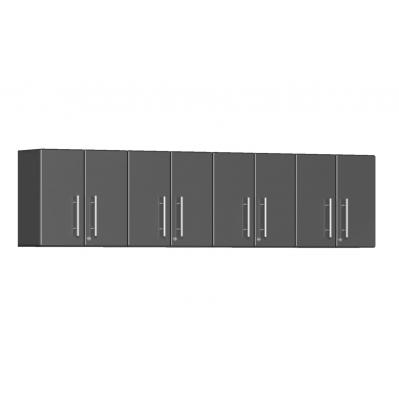 Ulti-MATE Garage 2.0 Series 4-Piece Wall Cabinet Kit Graphite Grey