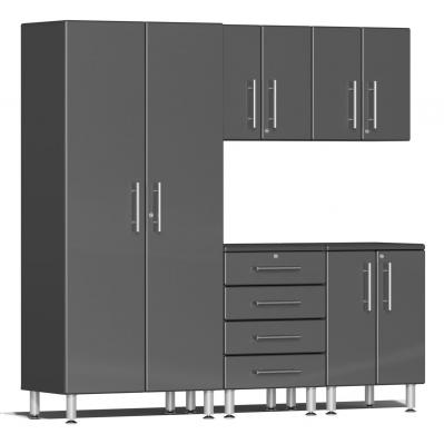 Ulti-MATE Garage 2.0 Series 5-Piece Kit Graphite Grey