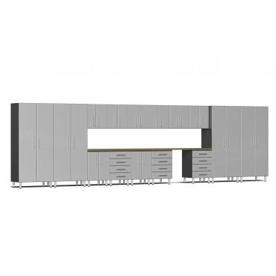 Ulti-MATE Garage 2.0 Series 16-Piece Super-System Stardust Silver Metallic