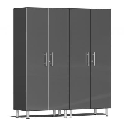 Ulti-MATE Garage 2.0 Series 2-Pc Tall Cabinet Kit Graphite Grey