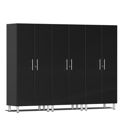 Ulti-MATE Garage 2.0 Series 3-Pc Tall Cabinet Kit Midnight Black