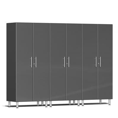 Ulti-MATE Garage 2.0 Series 3-Pc Tall Cabinet Kit Graphite Grey