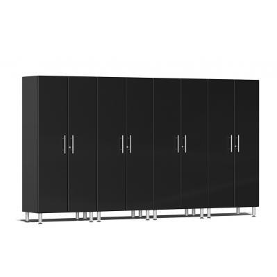 Ulti-MATE Garage 2.0 Series 4-Pc Tall Cabinet Kit Midnight Black