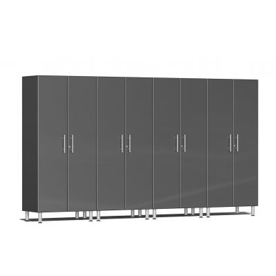 Ulti-MATE Garage 2.0 Series 4-Pc Tall Cabinet Kit Graphite Grey
