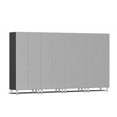 Ulti-MATE Garage 2.0 Series 4-Pc Tall Cabinet Kit Stardust Silver Metallic