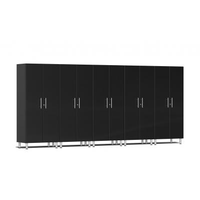 Ulti-MATE Garage 2.0 Series 5-Pc Tall Cabinet Kit Midnight Black