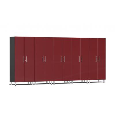Ulti-MATE Garage 2.0 Series 5-Pc Tall Cabinet Kit Ruby Red Metallic