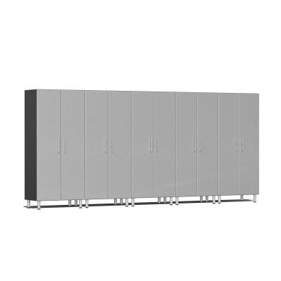 Ulti-MATE Garage 2.0 Series 5-Pc Tall Cabinet Kit Stardust Silver Metallic