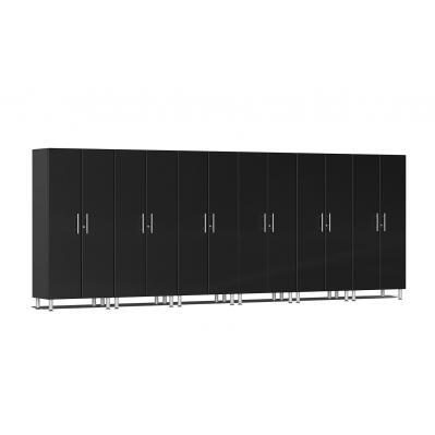 Ulti-MATE Garage 2.0 Series 6-Pc Tall Cabinet Kit Midnight Black