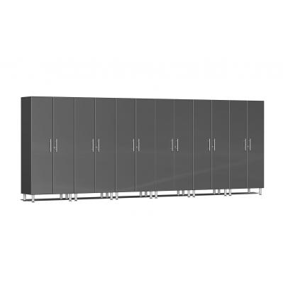 Ulti-MATE Garage 2.0 Series 6-Pc Tall Cabinet Kit Graphite Grey