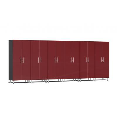 Ulti-MATE Garage 2.0 Series 6-Pc Tall Cabinet Kit Ruby Red Metallic
