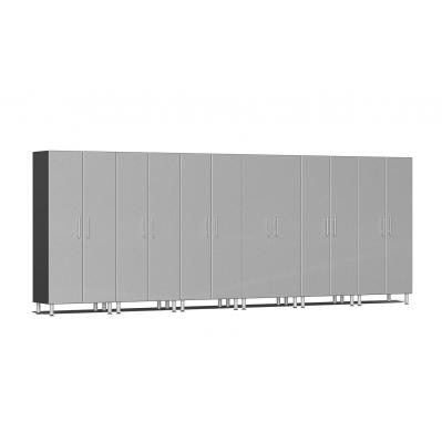 Ulti-MATE Garage 2.0 Series 6-Pc Tall Cabinet Kit Stardust Silver Metallic