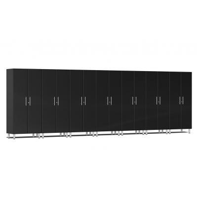 Ulti-MATE Garage 2.0 Series 7-Pc Tall Cabinet Kit Midnight Black