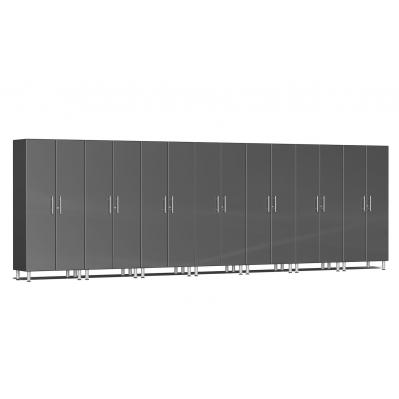 Ulti-MATE Garage 2.0 Series 7-Pc Tall Cabinet Kit Graphite Grey