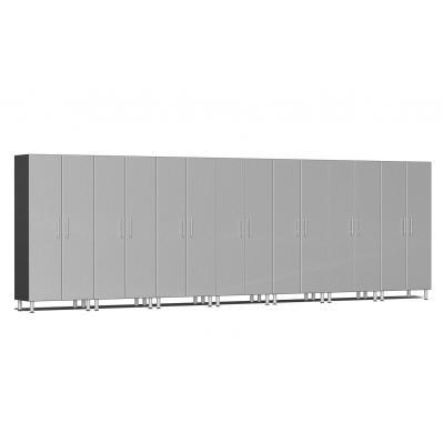 Ulti-MATE Garage 2.0 Series 7-Pc Tall Cabinet Kit Stardust Silver Metallic