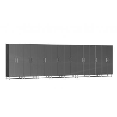 Ulti-MATE Garage 2.0 Series 8-Piece Tall Cabinet Kit Graphite Grey